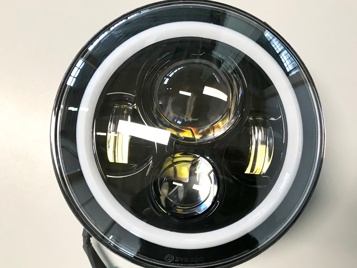 Vendita A016 FARO LED 7 POLLICI - 484 |  Legend Bikers * Concessionario Indian a Bergamo