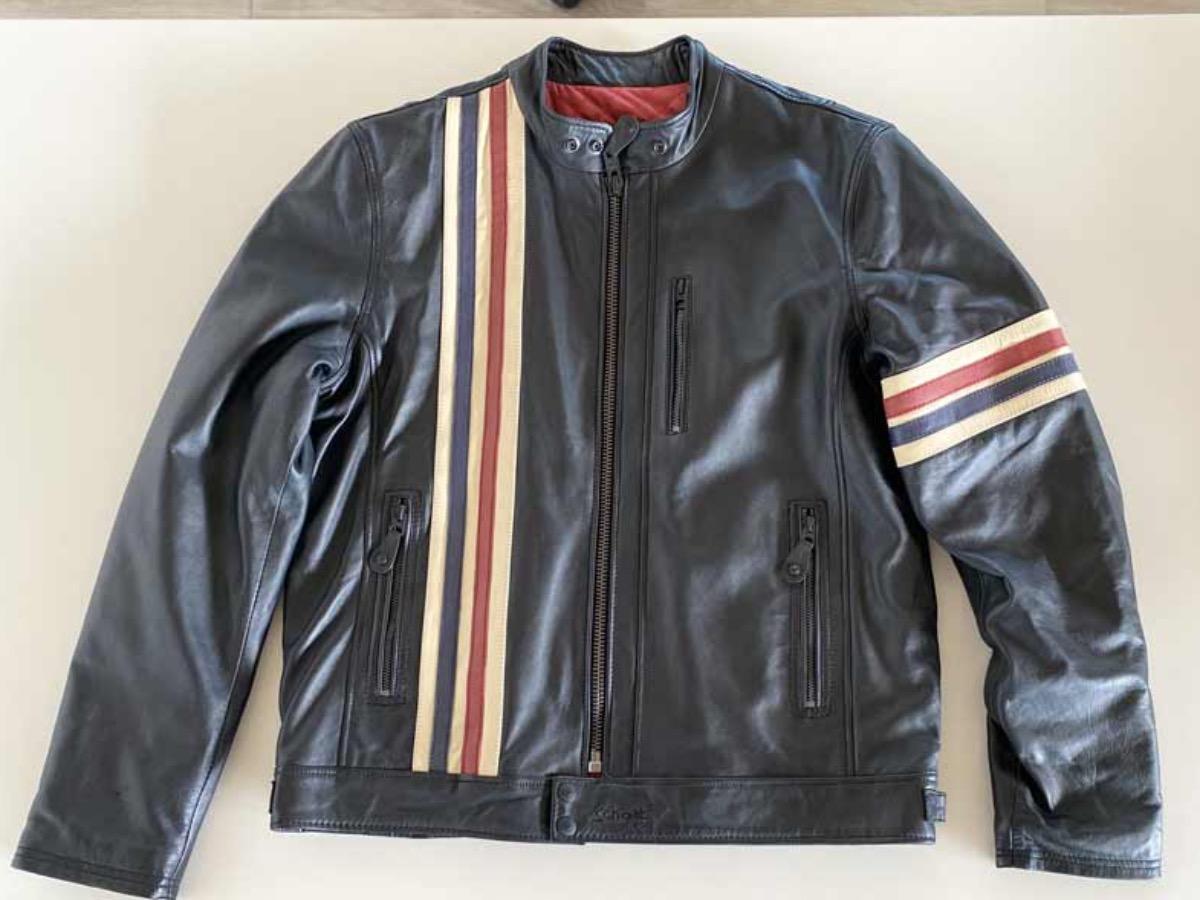 Vendita SCHOTT JACHET LEATHER - 481 |  Legend Bikers * Concessionario Indian a Bergamo