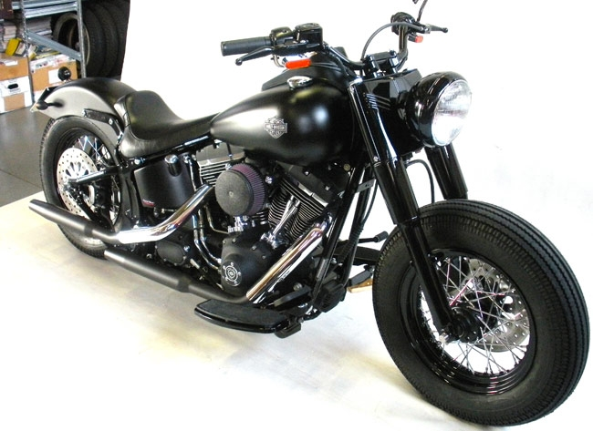 HARLEY DAVIDSON JOE BLACK (FLSTS)