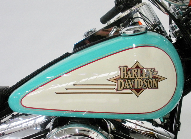 HARLEY DAVIDSON FAT BOY (FLSTF) 1340 CUSTOM PAINT