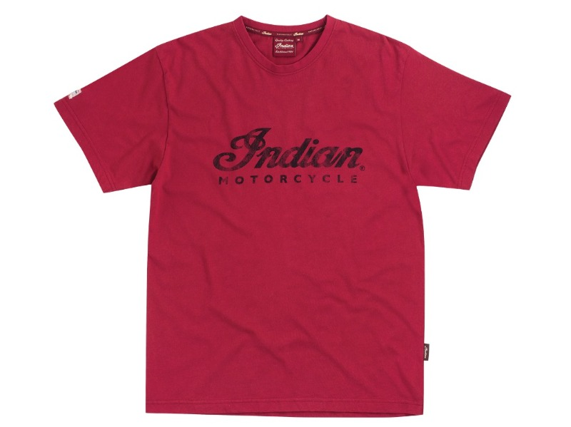 T-SHIRT UOMO ROSSA INDIAN