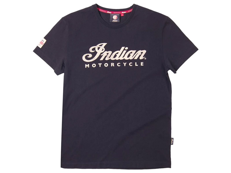T-SHIRT UOMO NERA INDIAN
