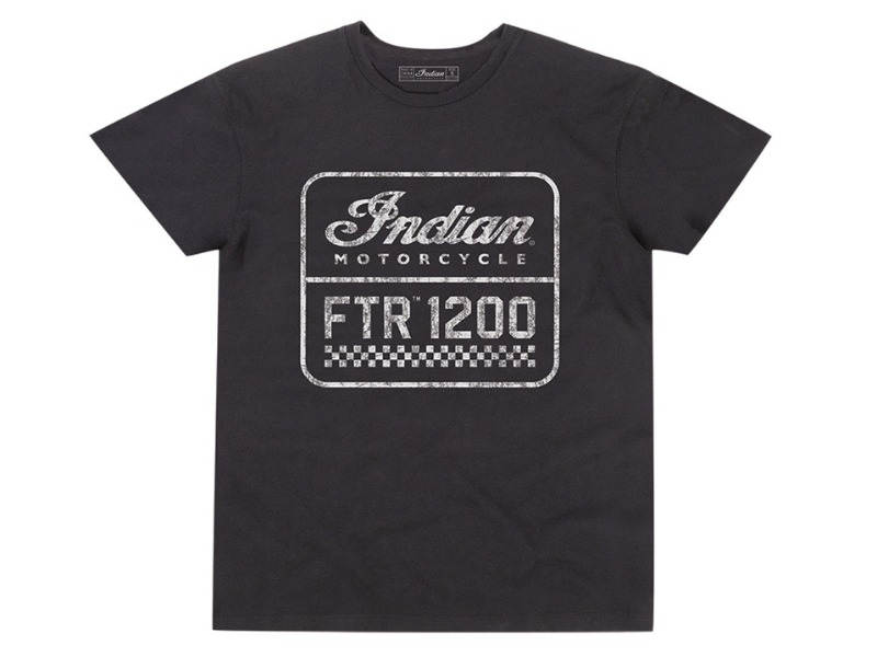 Legend Bikers Bergamo - T-SHIRT UOMO FTR1200 NERA INDIAN