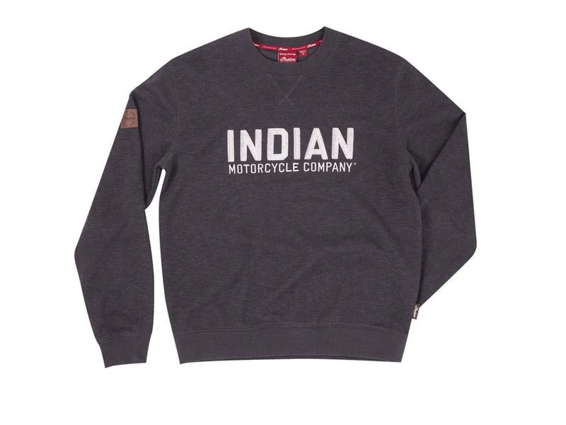 MAGLIONE UOMO NERO INDIAN