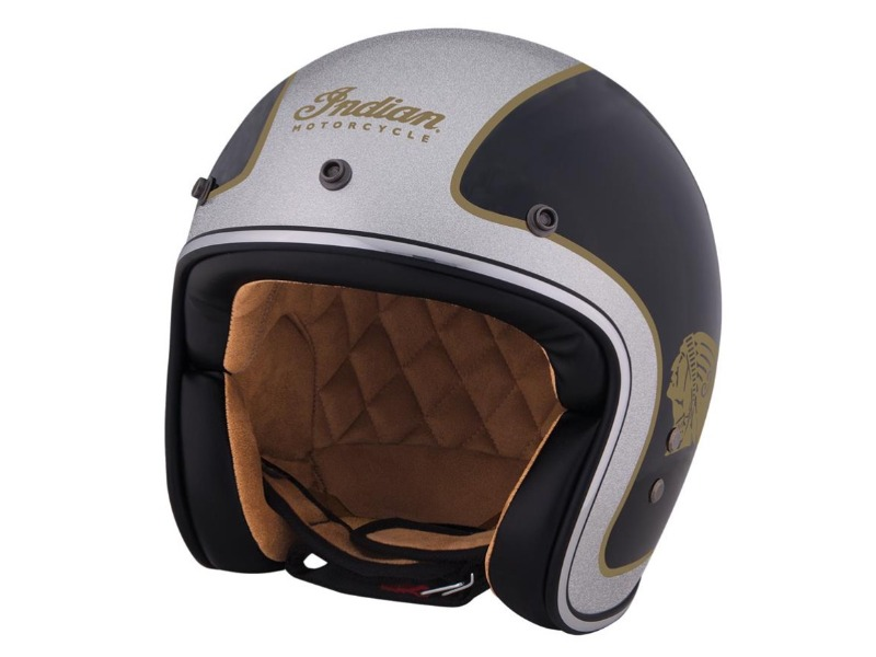 Legend Bikers Bergamo - CASCO BICOLORE OPEN FACE INDIAN