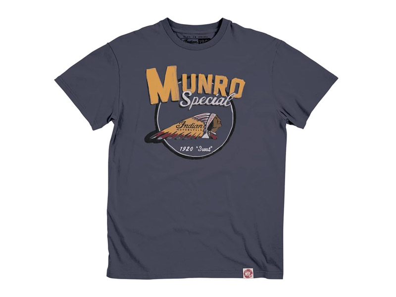 T-SHIRT UOMO 1901 MUNRO INDIAN