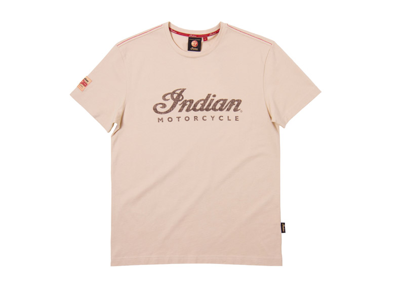 T-SHIRT UOMO CREMA INDIAN
