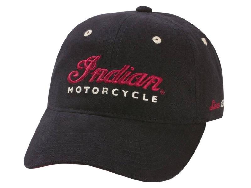 Legend Bikers Bergamo - CAPPELLINO NERO INDIAN