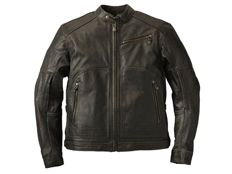 Legend Bikers Bergamo - GIACCA IN PELLE PHOENIX INDIAN NERA