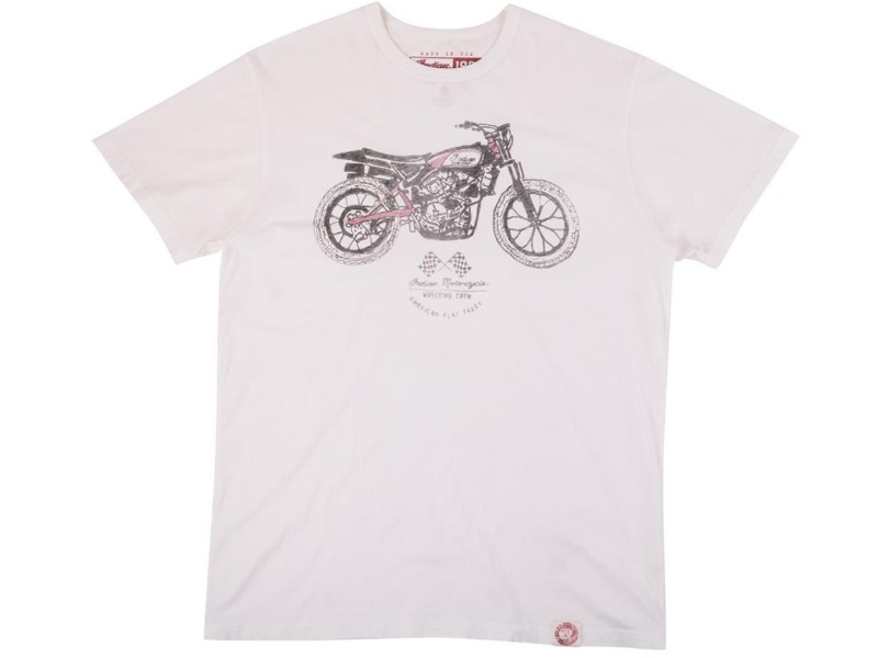 Legend Bikers Bergamo -T-SHIRT UOMO BIANCA INDIAN
