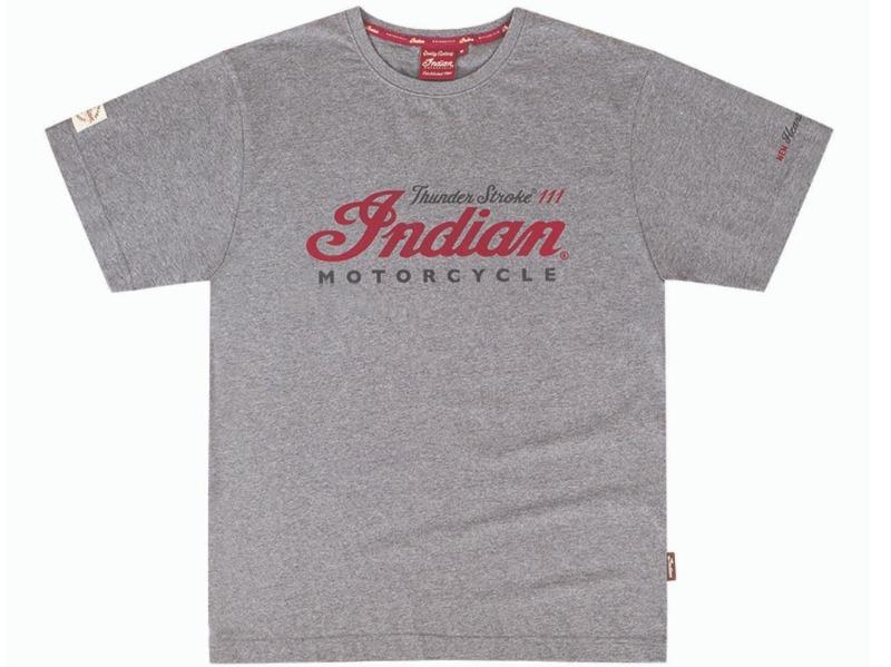 Legend Bikers Bergamo - INDIAN T-SHIRT, GRAY